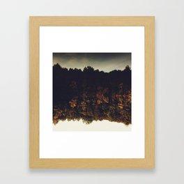 Flipping Autumn Framed Art Print
