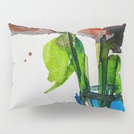 poppys , red flowers, floral, gift, art Pillow Sham