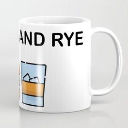 Burger and Rye Coffee Mug