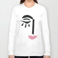 Modern Art Face Long Sleeve T-shirt