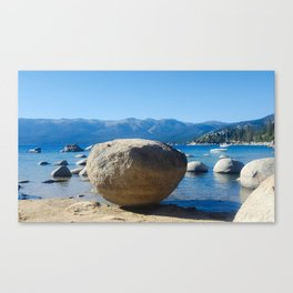 The Organic Placement of Nature Canvas Print