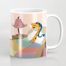 Sleepy Orange Coffee Mug