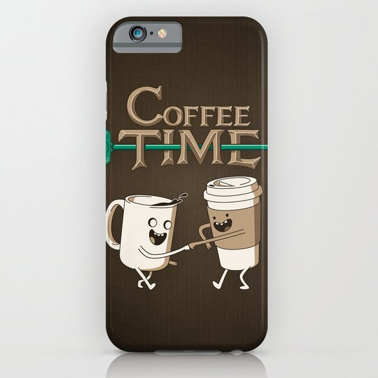 Coffee Time! iPhone & iPod Case by Powerpig