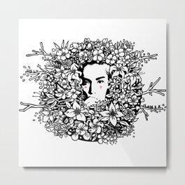 ugly flower Metal Print