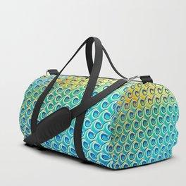 Wave Pattern Duffle Bag