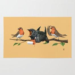 Cock Robin (Colour) Rug