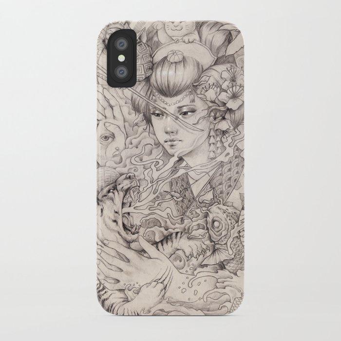 Irezumi iPhone Case