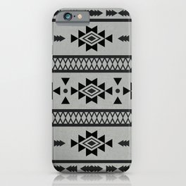 Abstract Tribal Native Geometric Pattern iPhone Case