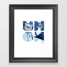 UHOH Framed Art Print