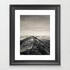Sky Path Framed Art Print