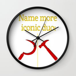 Name more iconic duo Wall Clock