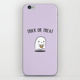 TRICK OR TREAT iPhone Skin