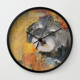 Sweet Havana Silk Wall Clock