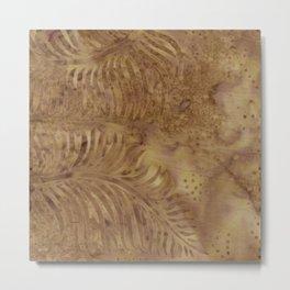 Coconut Batik 04 Metal Print