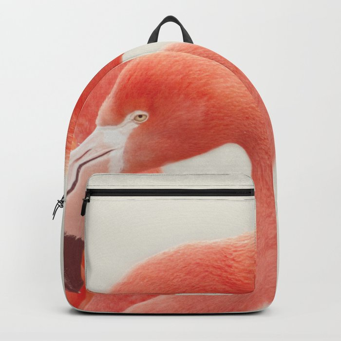 FLAMINGOS by Monika Strigel Backpack