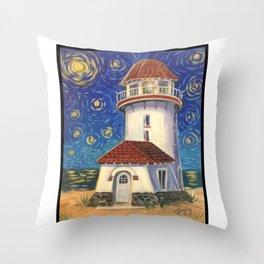 Brigantine Beacon Throw Pillow