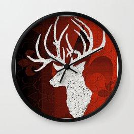 Reindeer Wall Clock