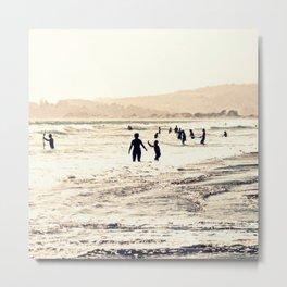 Summer Silhouettes Metal Print