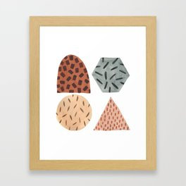 Gumdrop Sprinkles Framed Art Print