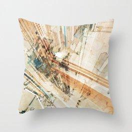 Skybridge-01 Throw Pillow