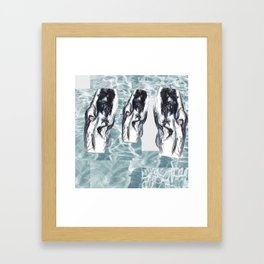 ~those three ~ Framed Art Print