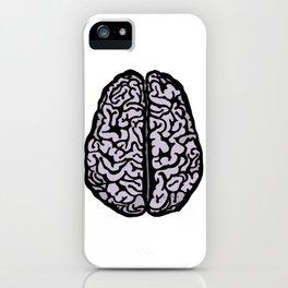 Brain (transparent) iPhone Case