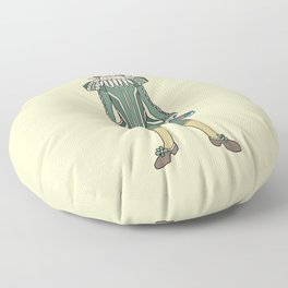 Outfit of Shakespeare Floor Pillow