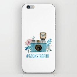 Blue Bookstagram iPhone Skin