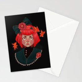 goldfish doll Stationery Cards
