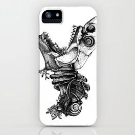Prehistoric Bloom - The Fish iPhone Case
