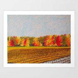 October Field Art Print
