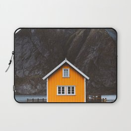 Yellow Cabin Laptop Sleeve
