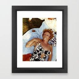 Knackered Framed Art Print