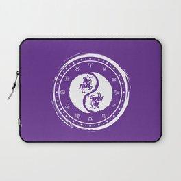 Sagittarius Yin Yang Ninth Zodiac Sign Laptop Sleeve