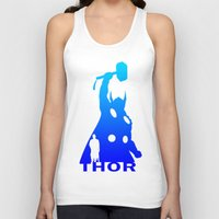 thor Tank Tops featuring Thor by Sport_Designs
