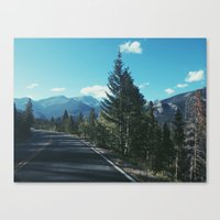 colorado Canvas Prints featuring Colorado by Gabrielle Wall