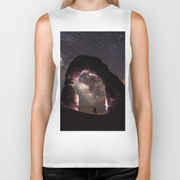 Delicate Nights Biker Tank