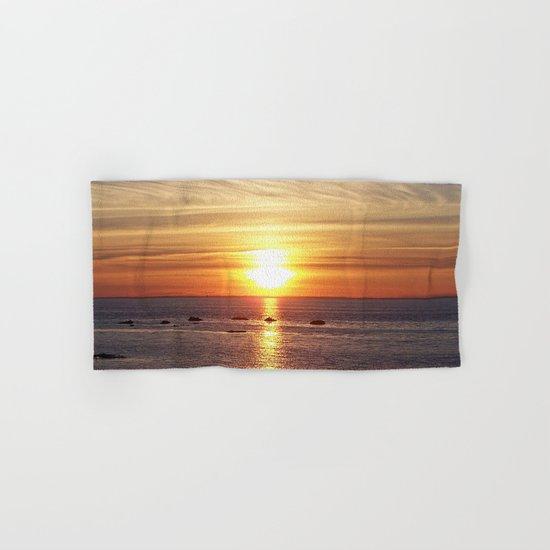 Gaspesie Sunset Hand & Bath Towel