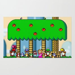 Super Mario World Rug