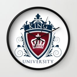 King University Wall Clock
