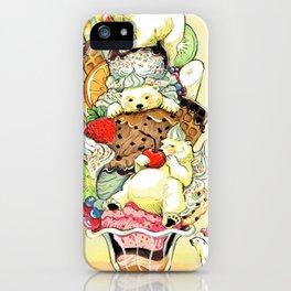 Polar Bear Sundae Dream iPhone Case