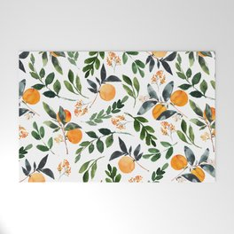 Orange Grove Welcome Mat