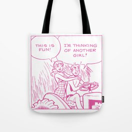 Archie Cannot Commit  Tote Bag