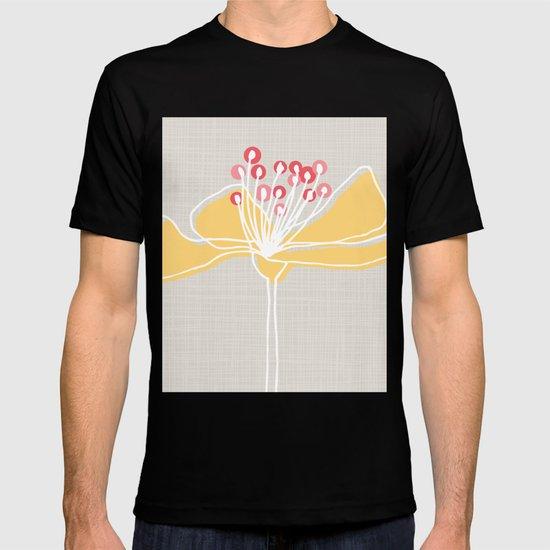 Cherry Blossom: Stone T-shirt
