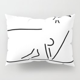 100 metre sprint athletics start Pillow Sham