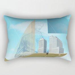 atmosphere 9 · Dreamland - Waiting for Rene Rectangular Pillow