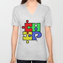 ChiPuzzle Unisex V-Neck
