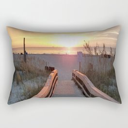 Good Morning Tybee Island Rectangular Pillow