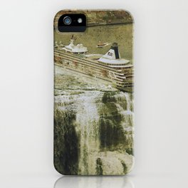 The Edge of the World iPhone Case