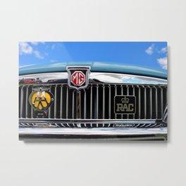 MG Classic Sports Motor Car Metal Print